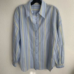 Tibi Striped Shirt